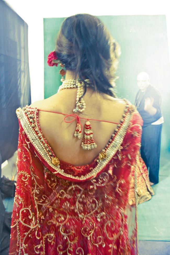 The back of this blouse is breathtaking.