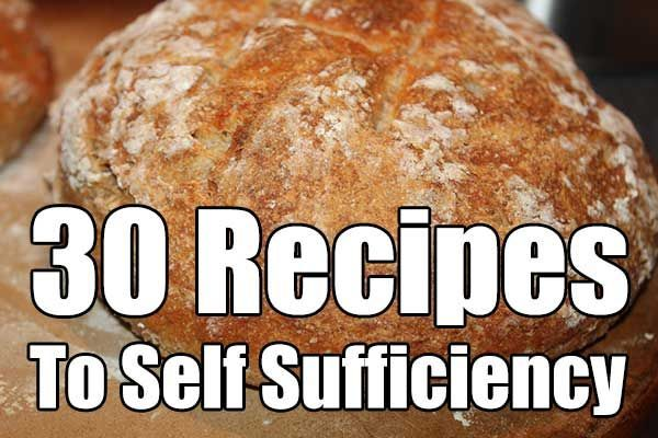 30 Recipes To Self Sufficiency - A good list of the basics, the site also has great projects, other recipes, etc.