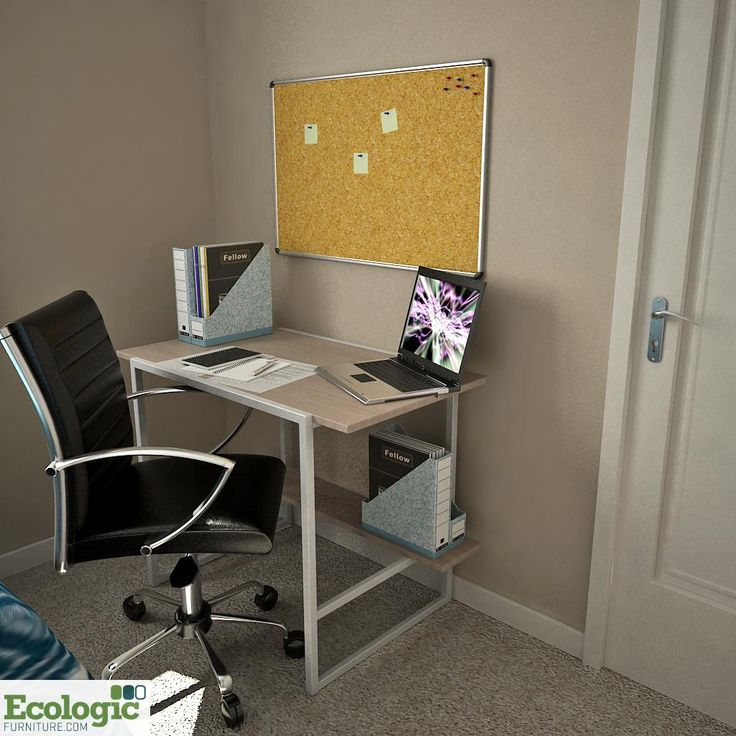 Modern Dorm Room Desk Space // Sustainable University Furniture  Manufactured By Ecologic Furniture