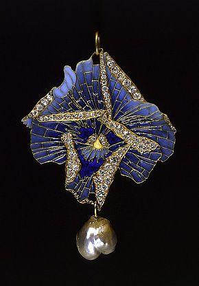 René Lalique. 1900 Brooch