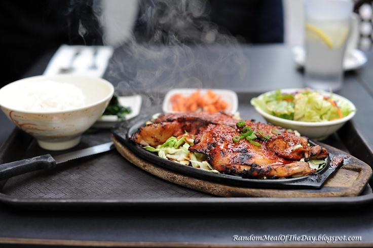 Korean style Chicken BBQ at Korean Kitchen Hibachi