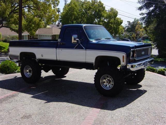 Nice 1973 Chevy Truck