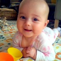 Cognitive Development CD18 The younger infant uses self, objects and others to attain a goal.  This article and video is a great reference.  The video shows the success of the infant when given time to accomplish her goal.