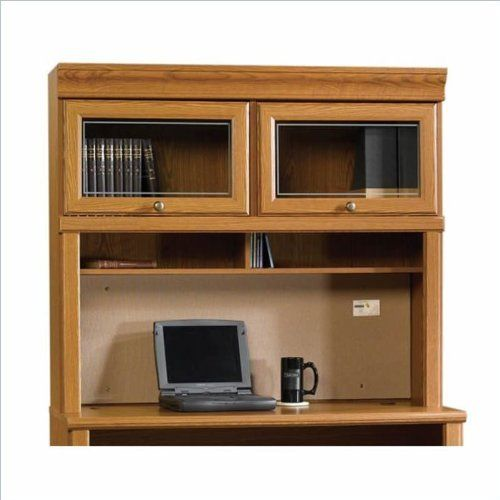 sauder orchard hills laptop desk hutch by sauder proudly made in the usa