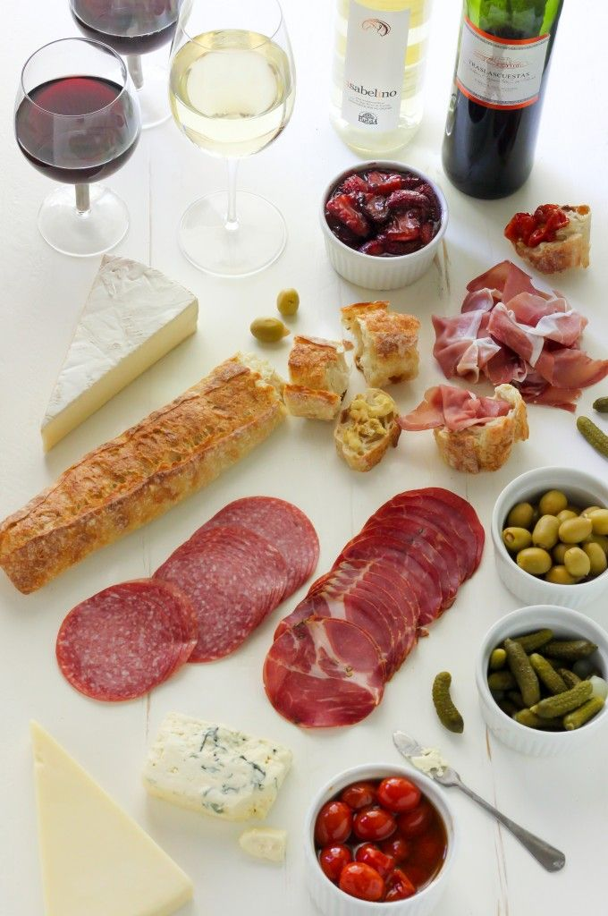 Summertime Cheese & Charcuterie Spread