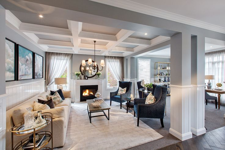 Classic Hamptons interior style by World of Style by Porter Davis