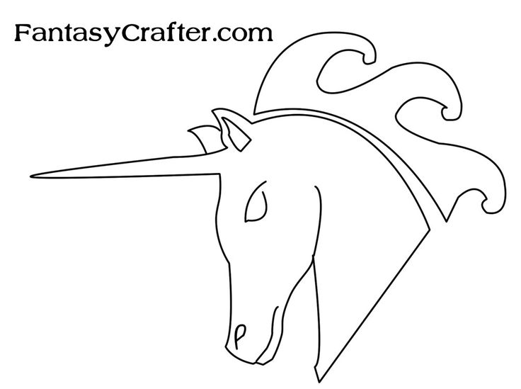 dragon template printable   ... Own Stamps with Free Dragon and Unicorn Templates   Fantasy Crafter