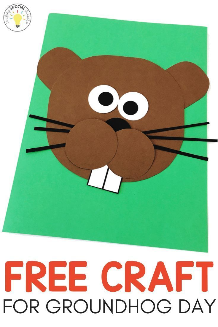 Groundhog Day Easy Art Craft And Anchor Chart Free Download Anchor Art Chart Craft Day Groundhog Day Activities Ground Hog Day Crafts Groundhog Day [ 1102 x 735 Pixel ]