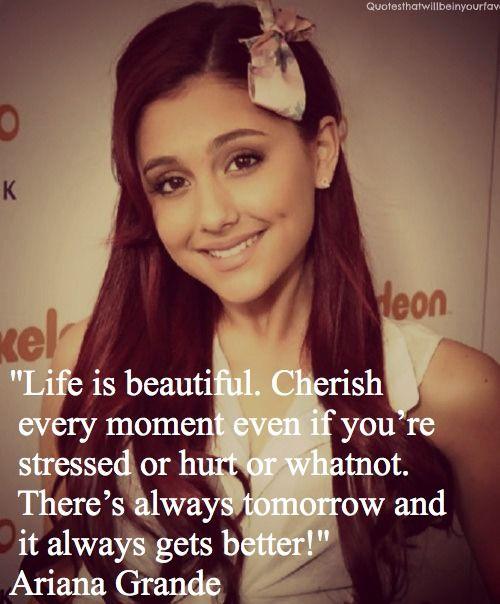 Ariana Grande Love Quotes -ariana grande celebrity