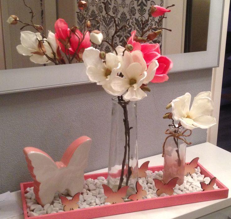 25 Deko Ideen Tablett Fruhling Springdecoration Fruhlingsdeko