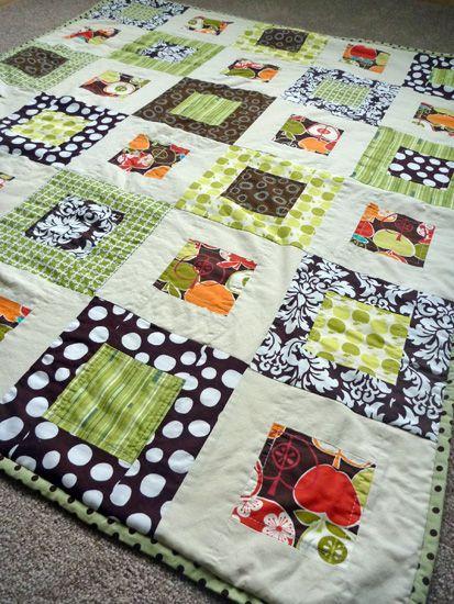 modern-baby-quilt: Quilt Modern, Sewing Modern Quilts, Modernbabyquilt Colorinspir, Quilts Modern, Bing Image, Modern Baby Quilts, Modern Quilting, Diy Quilts, Quilts Ideas