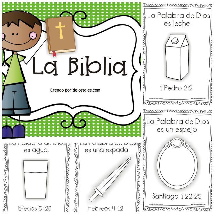 Recursos para enseñar la Palabra de Dios en la escuela dominical o en los devocionales en casa. Listos para imprimir y usar.