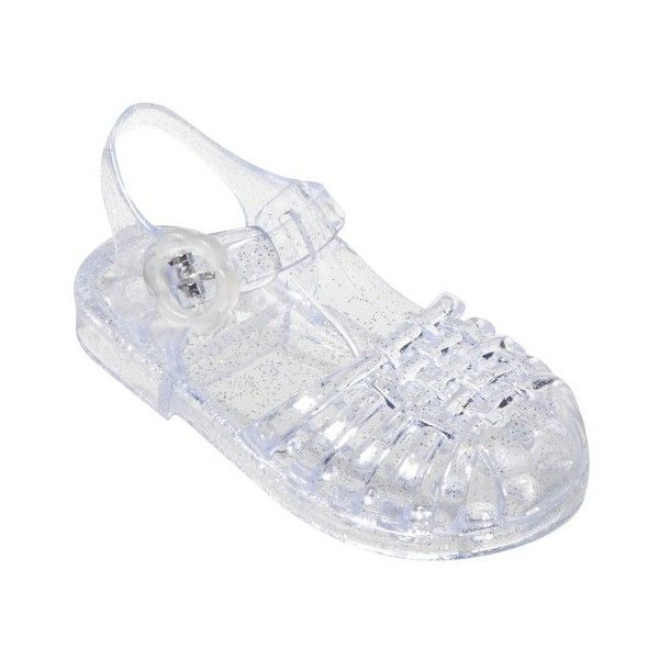 e03196afd1c5 Amazon.com  Toddler Girls  Circo® Baylaa Jelly Sandals - Clear  Shoes found  on Polyvore