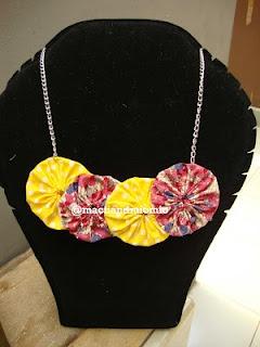 Yoyo necklace called Lillian..