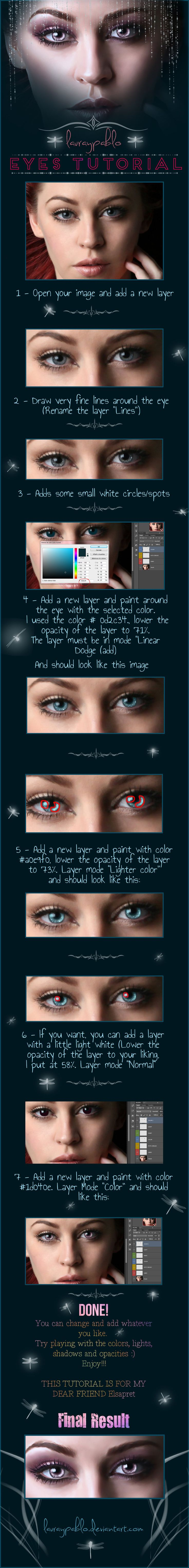 187 best photoshop tutorials images on pinterest photoshop httplauraypabloiantartarttutorial eyes baditri Gallery