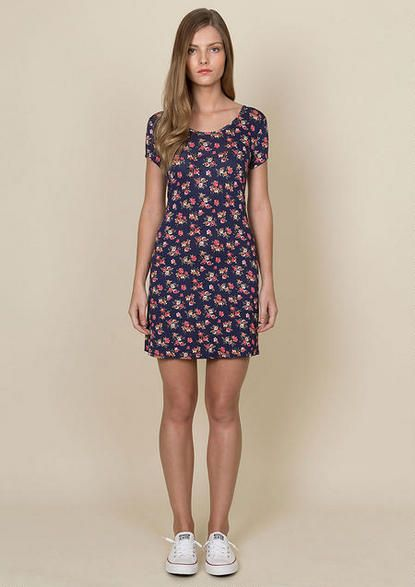 Peyton Lattice Back Dress - New - dELiA*s