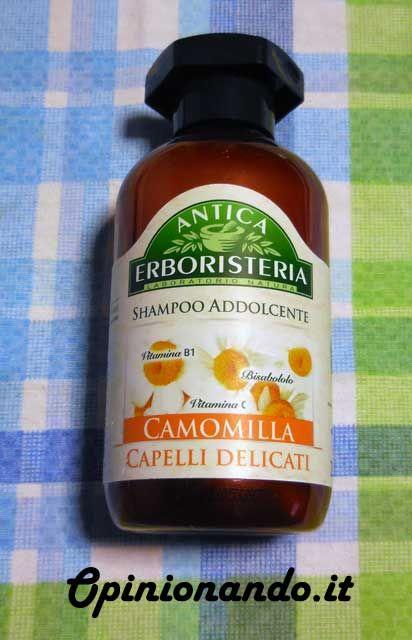 Lo #shampoo alla #camomilla di #AnticaErboristeria