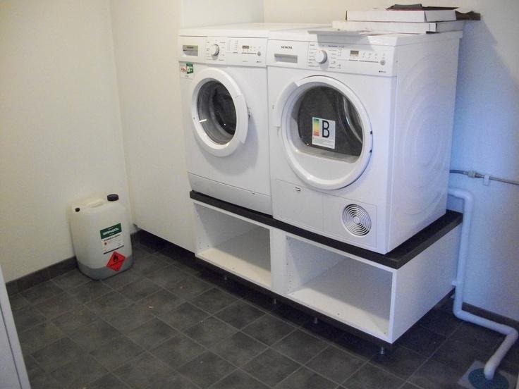 Renovering av tvättstuga i källare