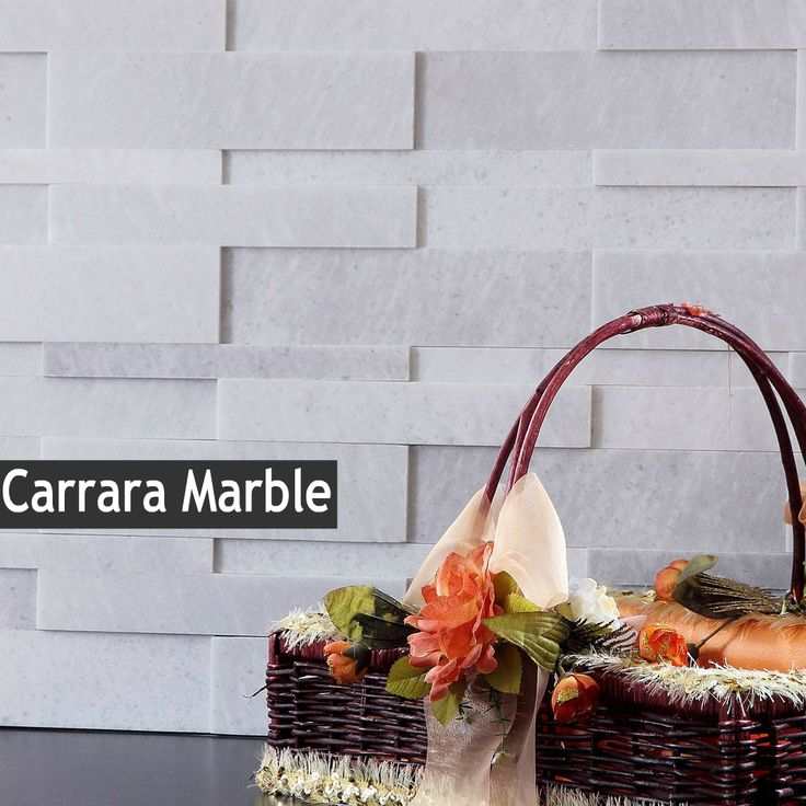 discount glass tile store 3d stone wall cladding carrara marble 985 http