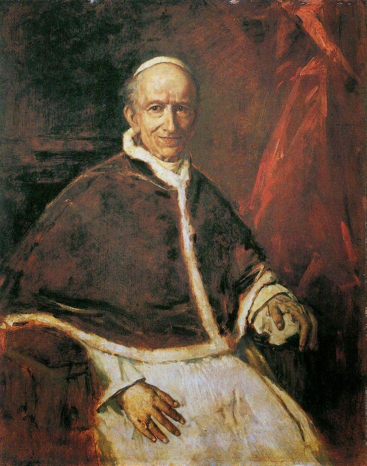 Resultado de imagem para Papa Leão XIII imagens) Leao