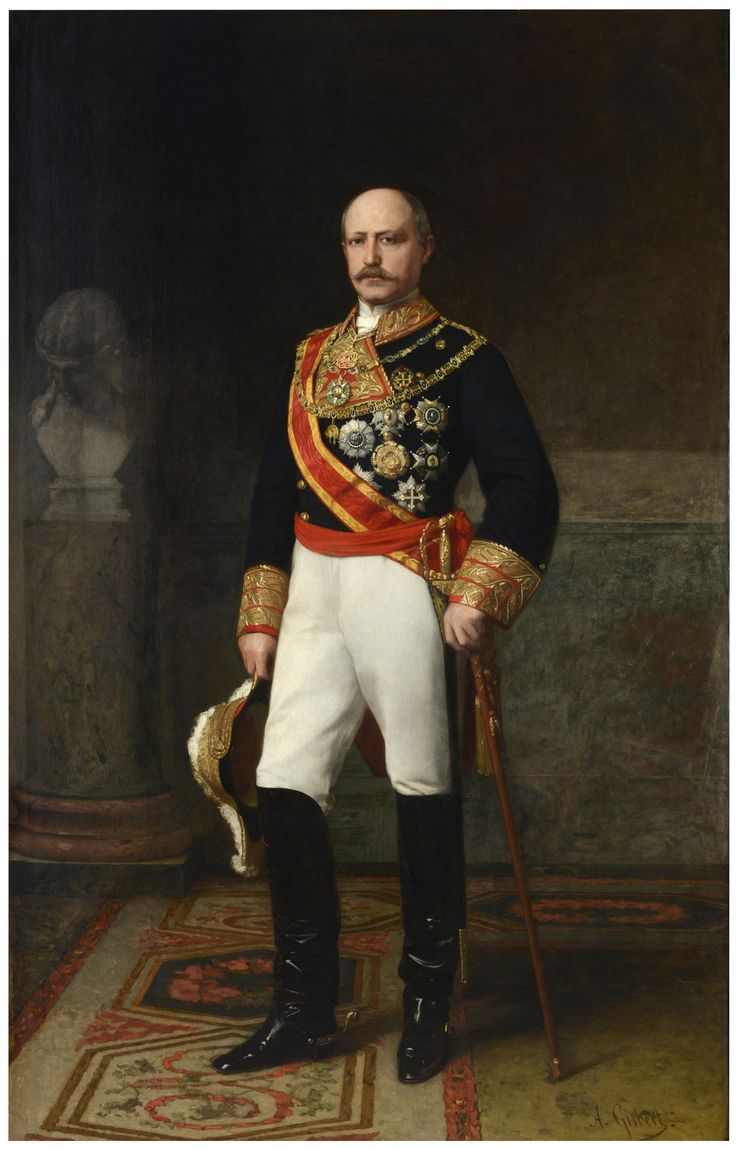 Captain General Don Francisco Serrano, 1st Duke of la Torre, Grandee of Spain, Count of San Antonio (1810–1885) was a Spanish marshal and statesman. He was Prime Minister of Spain in 1868–69 and regent in 1869–70. (Painting by Antonio Gisbert) ©Museo Nacional del Prado