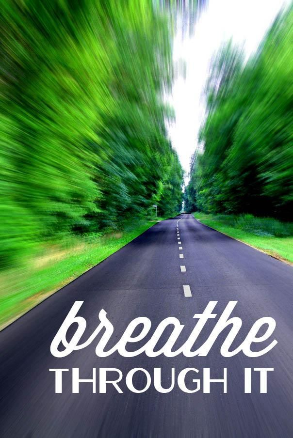 Inhale - Exhale …Observe your the reactionn of your body with each breath..