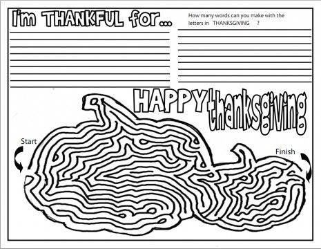 1000+ images about Thanksgiving activities on Pinterest