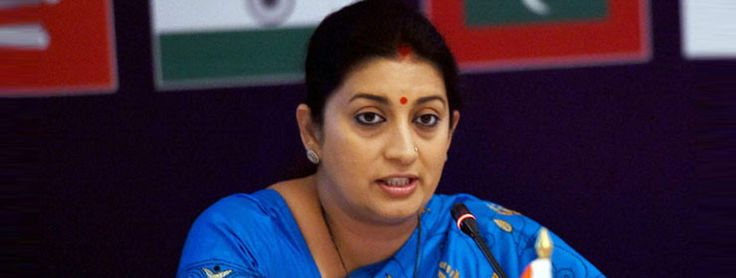 Indian women not dictated over dressing: Smriti Irani  - Read more at: http://ift.tt/1lyJ9Dq