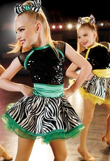 Weissman® | Zebra-Print Skirt Party Dress