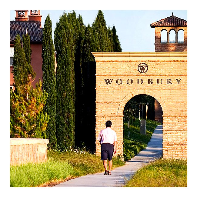 Monument entrance adds to the Village of Woodbury's strong sense of place
