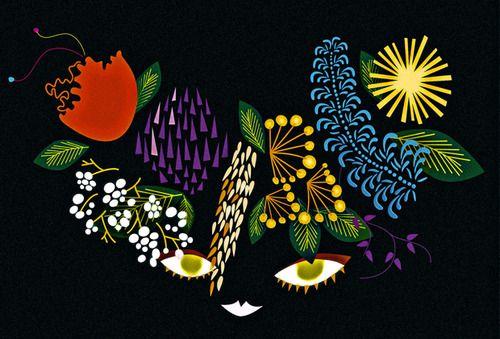 Illustration by Finnish artist Sanna Mander