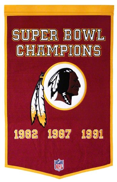 Washington Redskins | Washington Redskins NFL Football Dynasty Banner