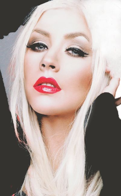 Bold makeup with platinum blonde hair...SEXY! #studiork