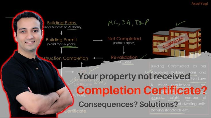 Completion Certificate (CC) of a Building (Property) -  What, Why & How ...    Do you know the importance of Certificate of Completion while taking possession of a property?  You must watch this if you're planning to purchase an under construction property.   #RealEstate #CompletionCertificate #AssetYogi