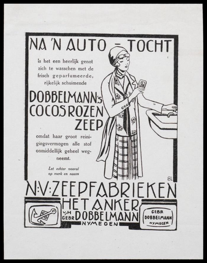 Dobbelmann, Nijmegen, affiche