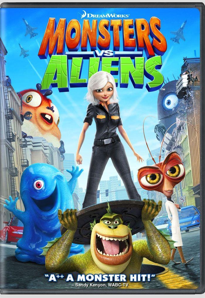 Monsters Vs Aliens 2009 Monsters Vs Aliens Monsters Vs Aliens Movie Dreamworks Movies