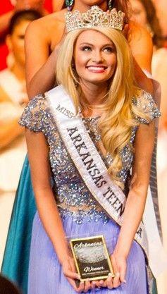 Miss Arkansas Teen USA 2015 Evening Gown: HIT or MISS?  http://thepageantplanet.com/miss-arkansas-teen-usa-2015-evening-gown/