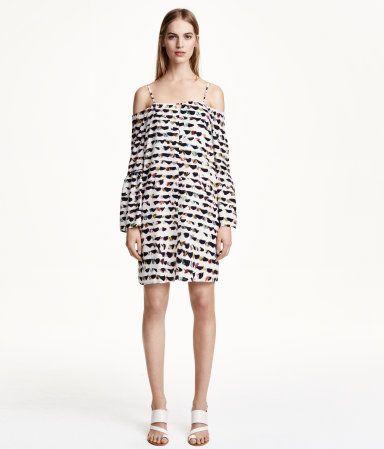 H&M Off-the-shoulder dress £39.99