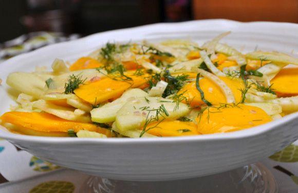 Tropical Fennel salad