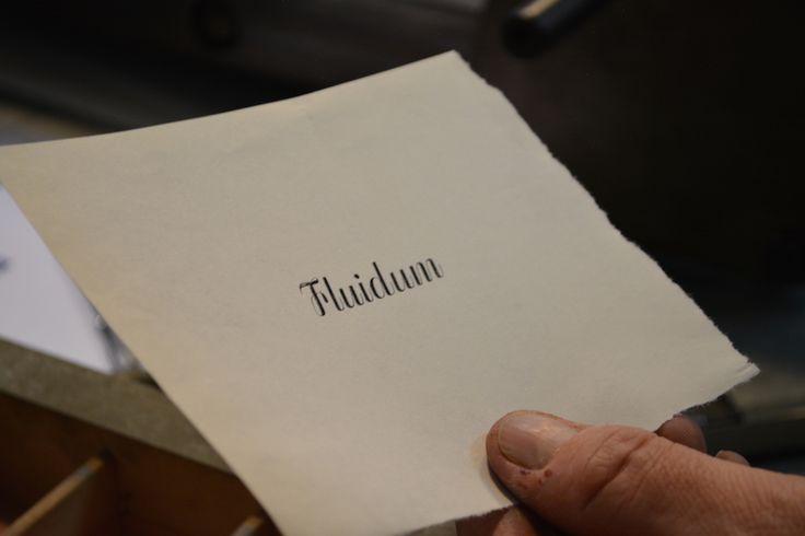 Fluidum by Alessandro Butti at Archivio Tipografico