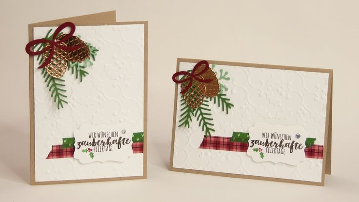 10 besten stampin 39 up tannenzauber christmas pines. Black Bedroom Furniture Sets. Home Design Ideas