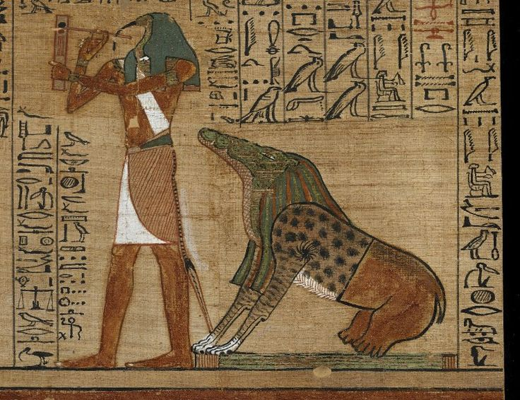 'Book of the Dead', Papyrus of Ani