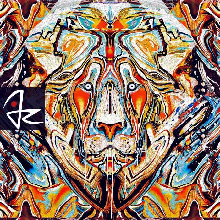 """Lion"" digital painting by Giulio Rossi https://goo.gl/rsA67T"