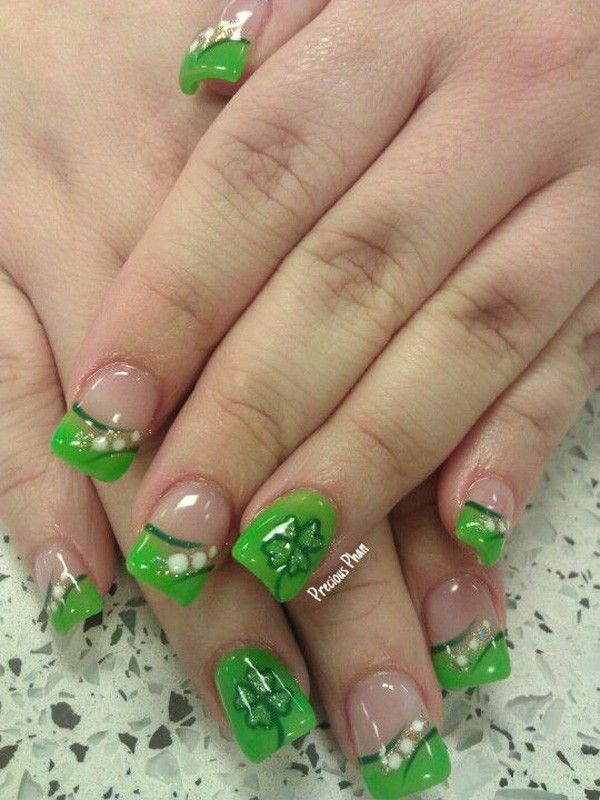 83 best March nail art images on Pinterest | Work nails, Belle nails ...