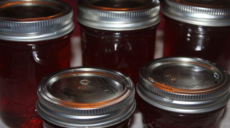 Apple Cinnamon Honey Jelly