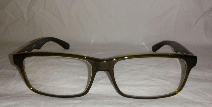 Carrera Eyeglass Frames  CA 6605 BED Dark GREEN CLEAR COPPER CLEAR #Carrera
