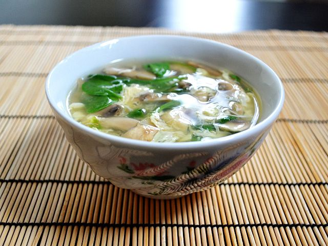 Easy Egg Drop Soup by budgetbytes: Nice and light for after the feasting. #0.63/serving #Egg_Drop_Soup #budgetbytes #Soup