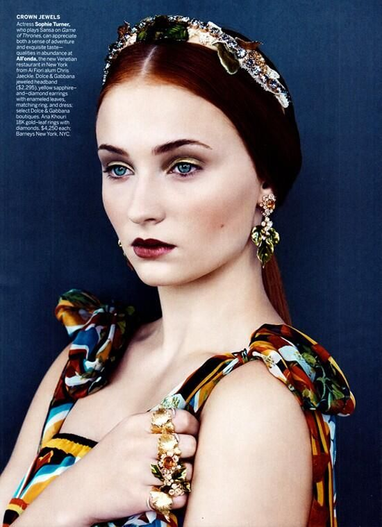 'Game of Thrones' Sophie Turner is stunning in Vogue