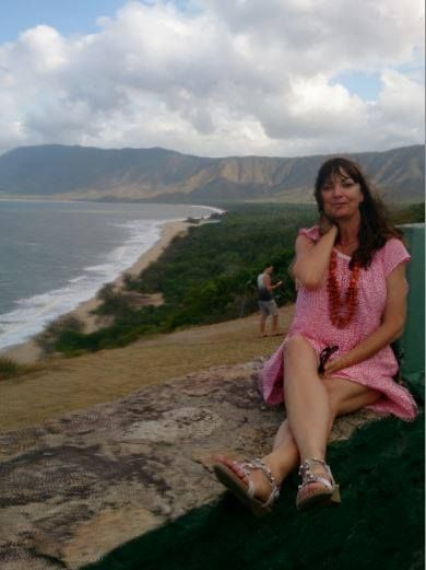 Publicity shot on the road from Port Douglas to Cairns
