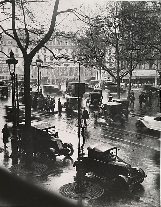 Boulevard Malesherbes at Midday, Paris André Kertész Amer Budapest 1894–1985 New York